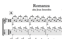 Picture of Romanza (Jeux Interdits) Sheet Music & Tabs