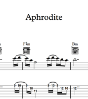 Picture of Aphrodite - Sheet Music & Tabs