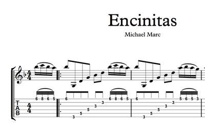 Hình ảnh của Encinitas - Sheet Music & Tabs