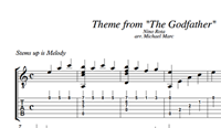 Picture of Godfather Sheet Music &Tabs