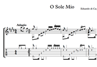 图片 O Sole Mio Sheet Music & Tabs