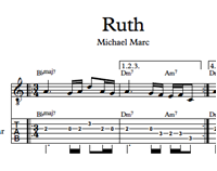 Ruth - Sheet Music & Tabs の画像
