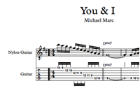 Picture of You And I - Sheet Music & Tabs