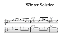 Снимка на Winter Solstice - Sheet Music & Tabs