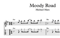 图片 Moody Road Sheet Music & Tabs