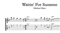 Imagen de Waitin' For Suzanne - Sheet Music & Tabs