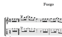 Immagine di Fuego Sheet Music & Tabs