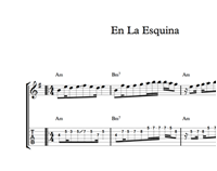 Изображение En La Esquina Sheet Music & Tabs