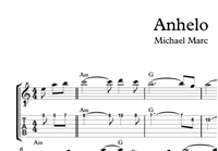 Picture of Anhelo Sheet Music & Tabs