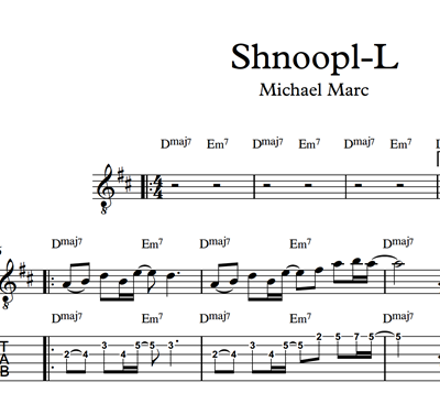 Picture of Shnoop-L - Sheet Music & Tabs