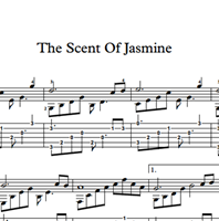 图片 The Scent Of Jasmine Sheet Music & Tabs