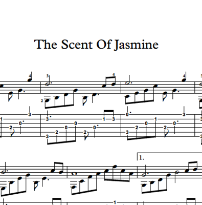 Image sur The Scent Of Jasmine - Sheet Music & Tabs