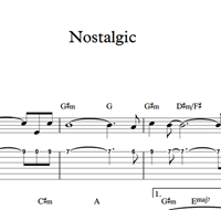 Picture de Nostalgic - Sheet Music & Tabs