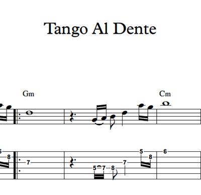 Hình ảnh của Tango Al Dente - Sheet Music & Tabs