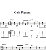 Снимка на Cala Figuera - Sheet Music & Tabs