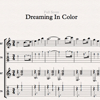 Imagen de Dreaming In Color - Sheet Music & Tabs