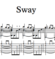 Picture de Sway Sheet Music & Tabs
