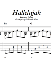图片 Hallelujah - Sheet Music & Tabs